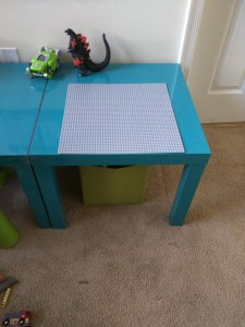 TJ's Lego Table Ikea Hack