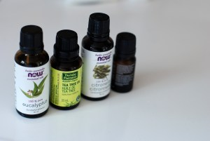 Mosquito repellent essential oils