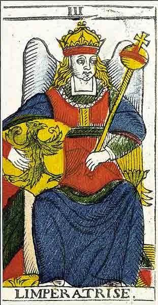 Carta del Tarot La Emperatriz, marifranstarot.com