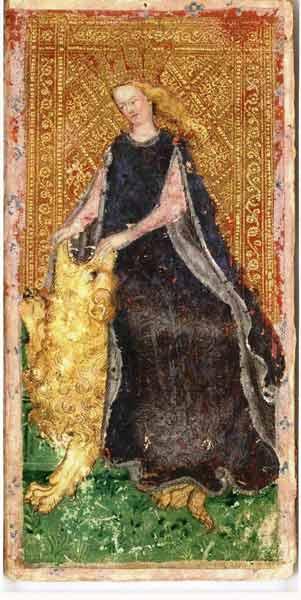 Visconti-Sforza-XI-Fortitude en marifranstarot.com