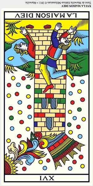 ©Wilfried Houdouin tarot-de-marseille-millennium.com XVI La Torre en marifranstarot.com