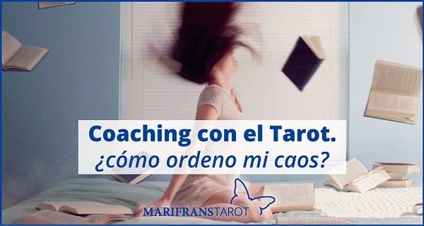 Coaching con el Tarot. El Emperador. ¿cómo ordeno mi caos? en marifranstarot.com