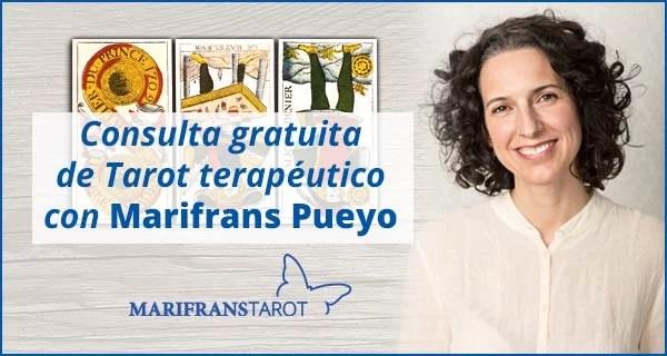 Consulta tarot terapéutico con Marifrans Pueyo 11 enero 2018