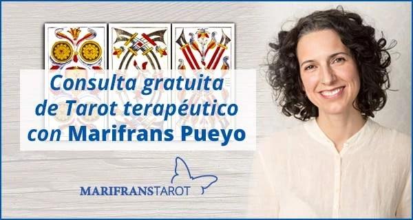 Consulta tarot terapéutico con Marifrans Pueyo 09 marzo 2018