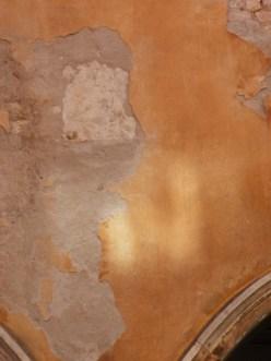 sunlight on old plaster © Mari French 2012