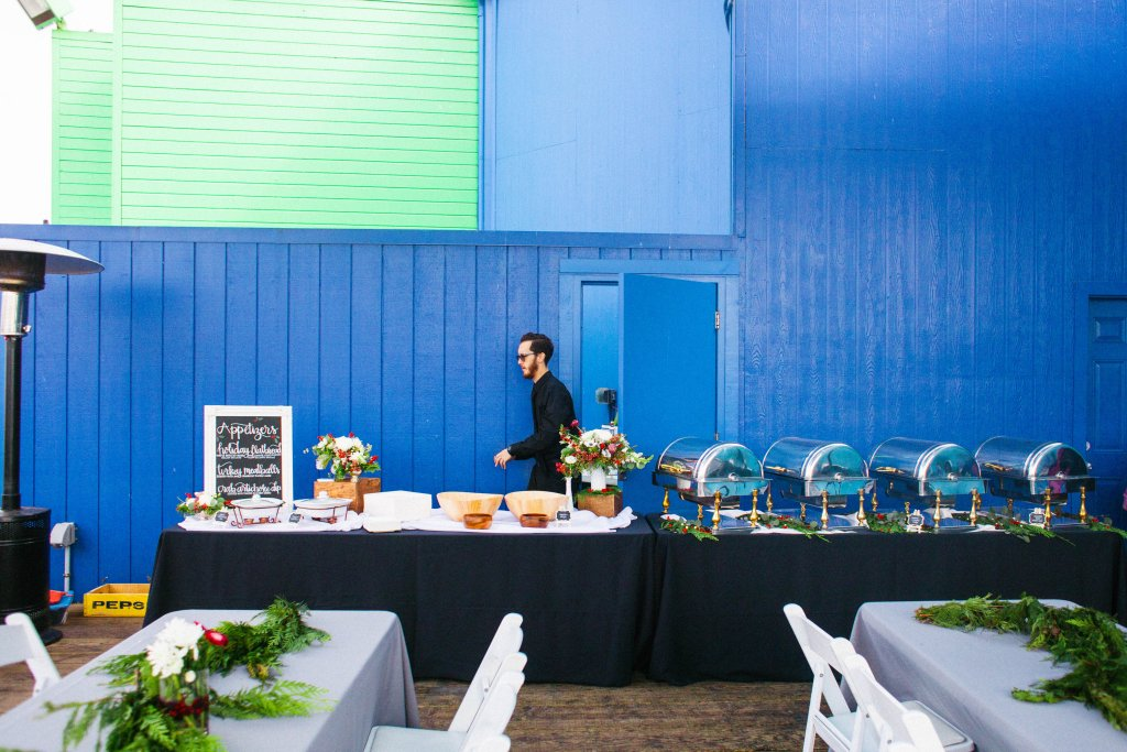 Marigold Events LA | Santa Monica Pier Holiday Party,