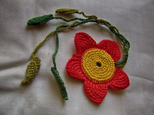 crochet-bookmark_flower2