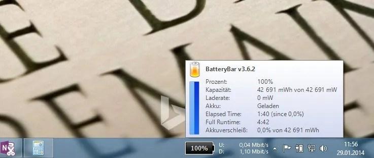 BatteryBar Pro für kurze Zeit günstiger