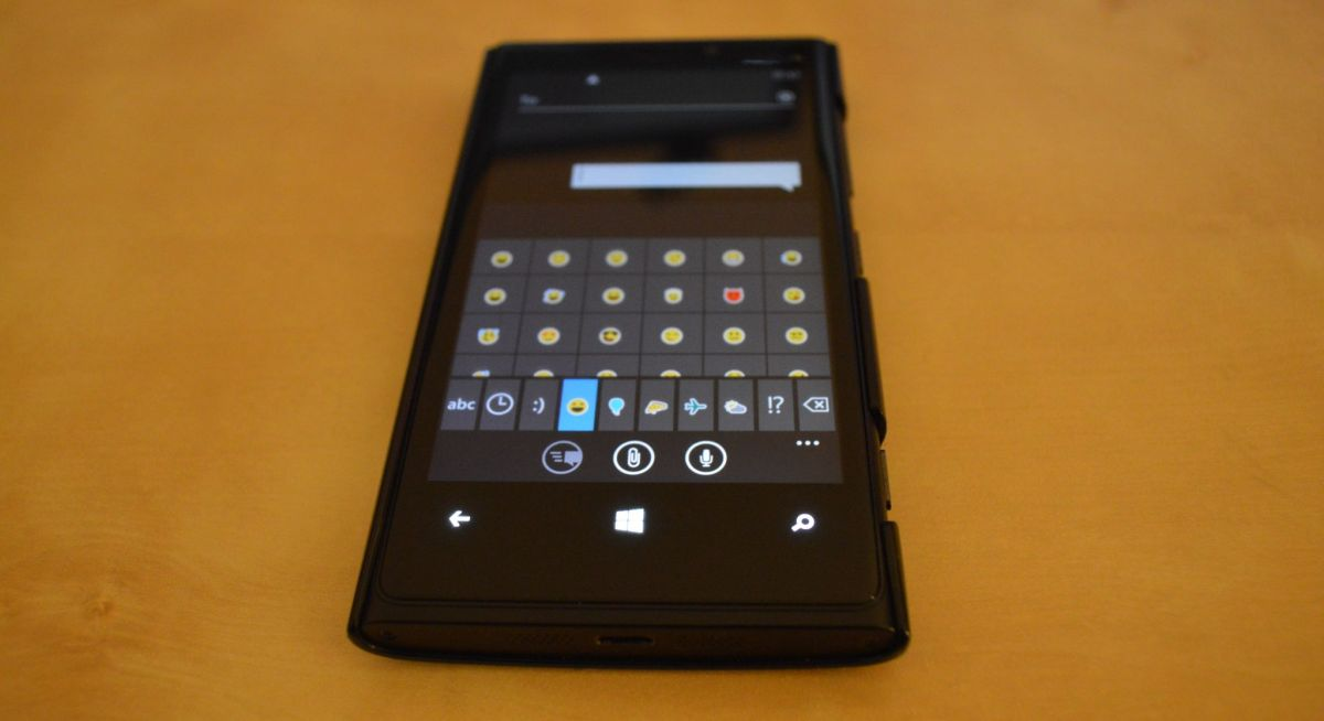 Windows Phone Keyboard Emotions