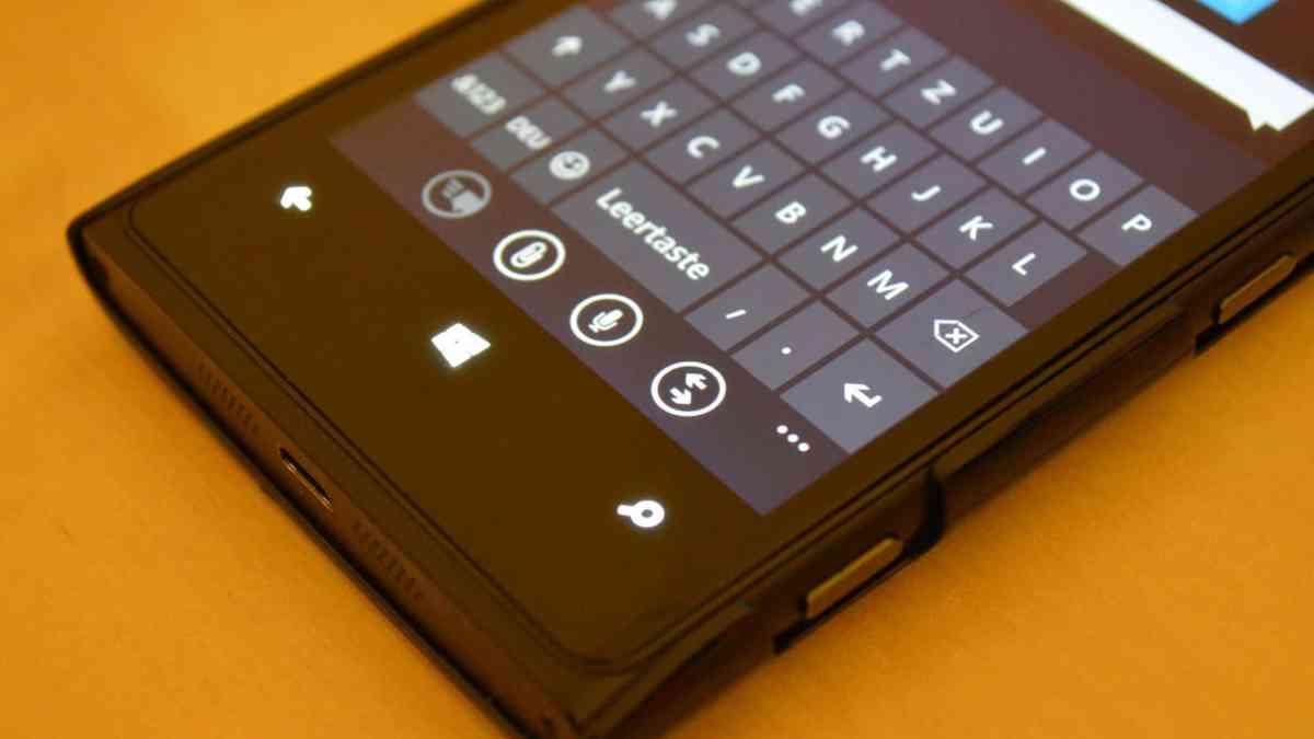 So schreibst du auf deinem Windows Phone schneller!