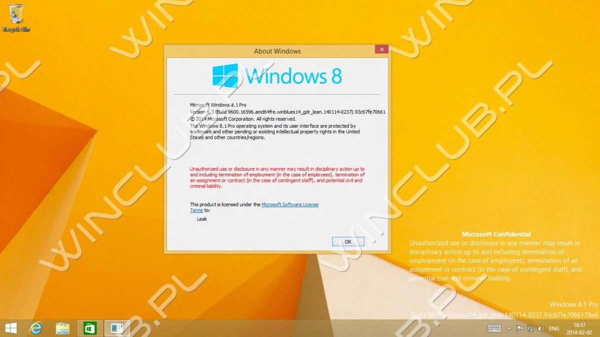 Windows 8.1 GDR1 Leak