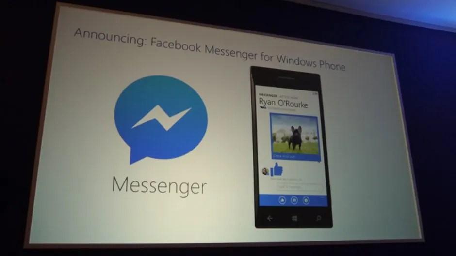 Windows Phone erhält eigenen Facebook Messenger
