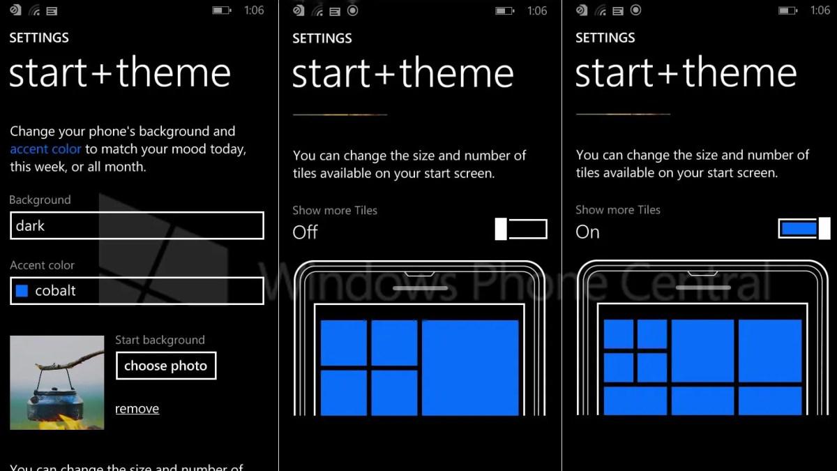 Das ist der neue Windows Phone 8.1 Startbildschirm