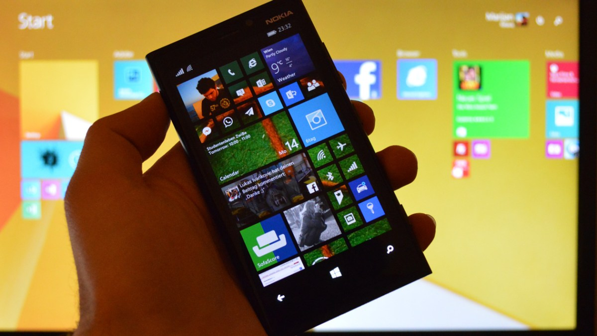 Hallo Windows Phone 8.1 (Preview)!