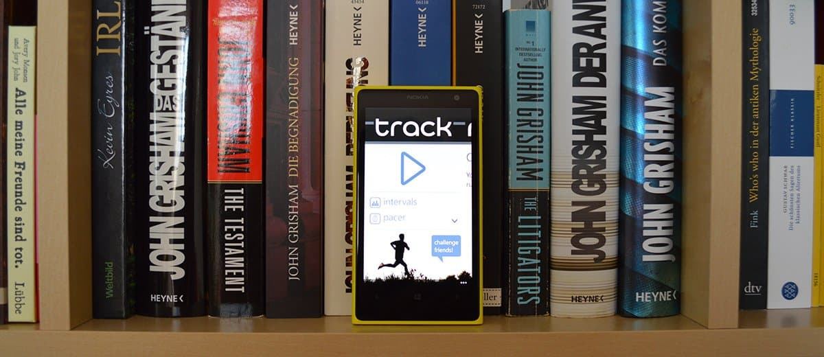 Runtastic Alternative: Track Tunner für Windows Phone