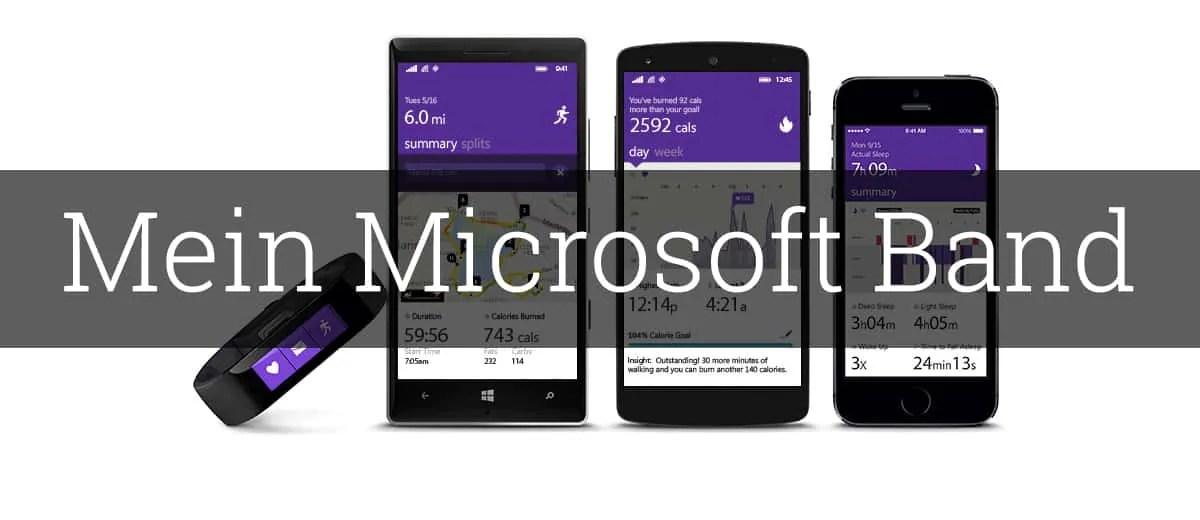 Mein Microsoft Band