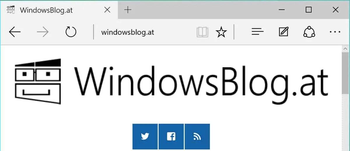 WindowsBlog.at ist wieder da!