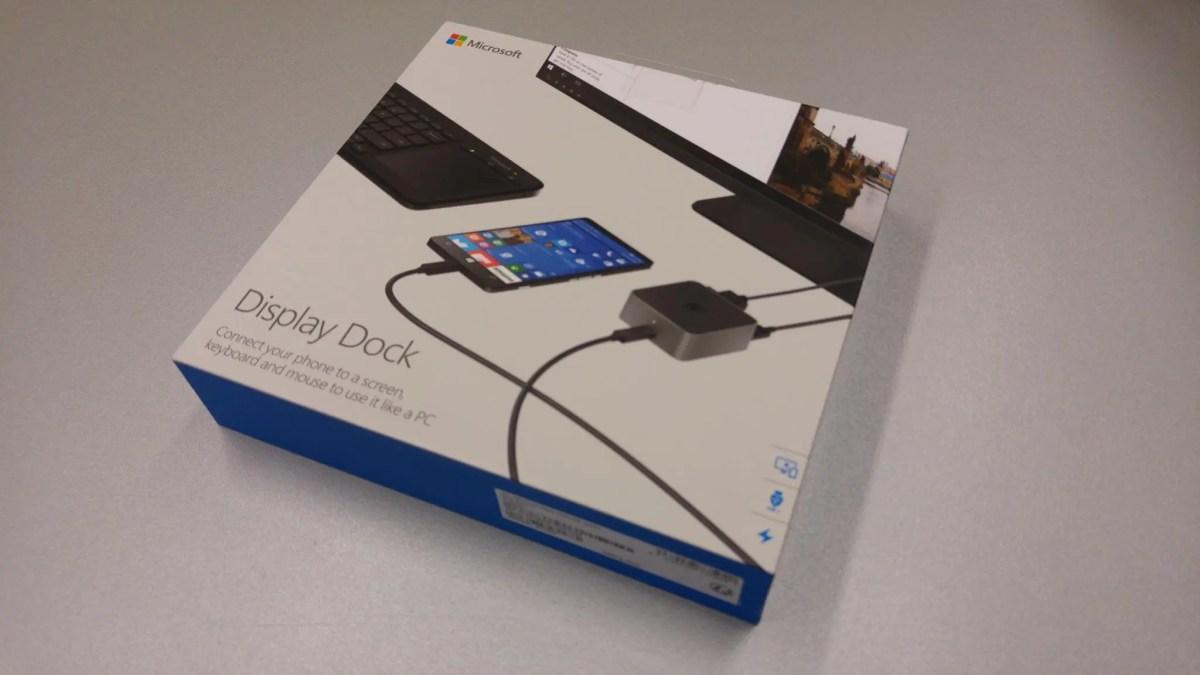 Microsoft Display Dock im Hands-On