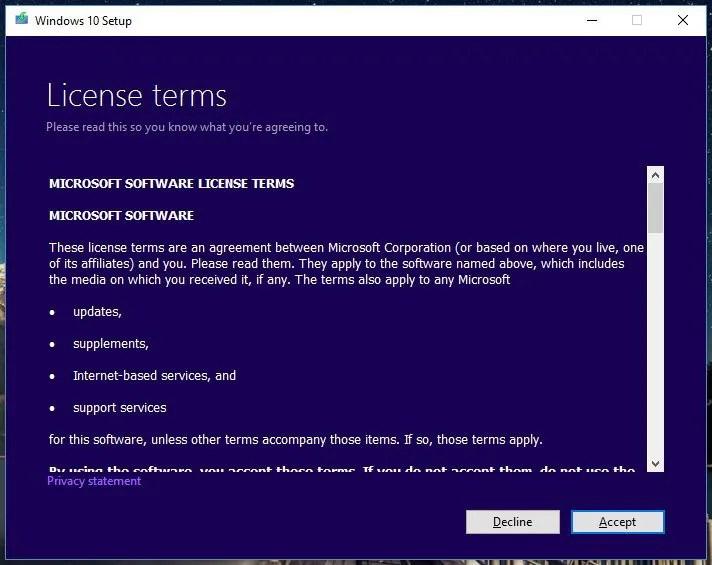 Windows 10 Setup Tool - 1