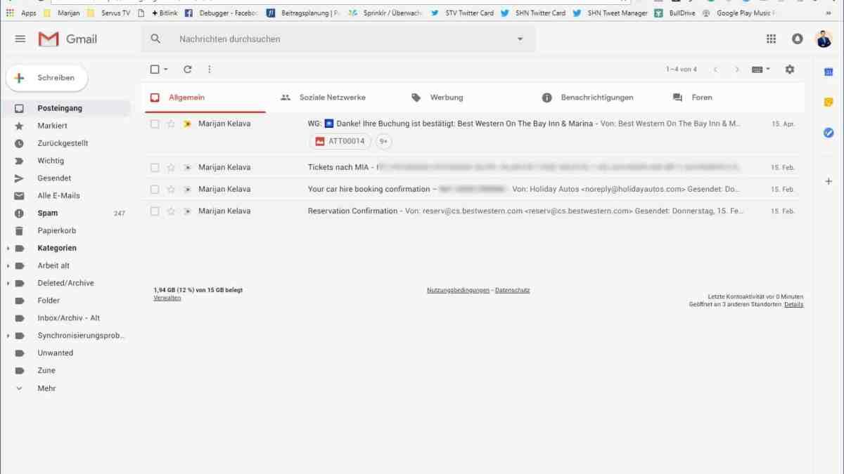 So aktivierst du das neue Gmail Design