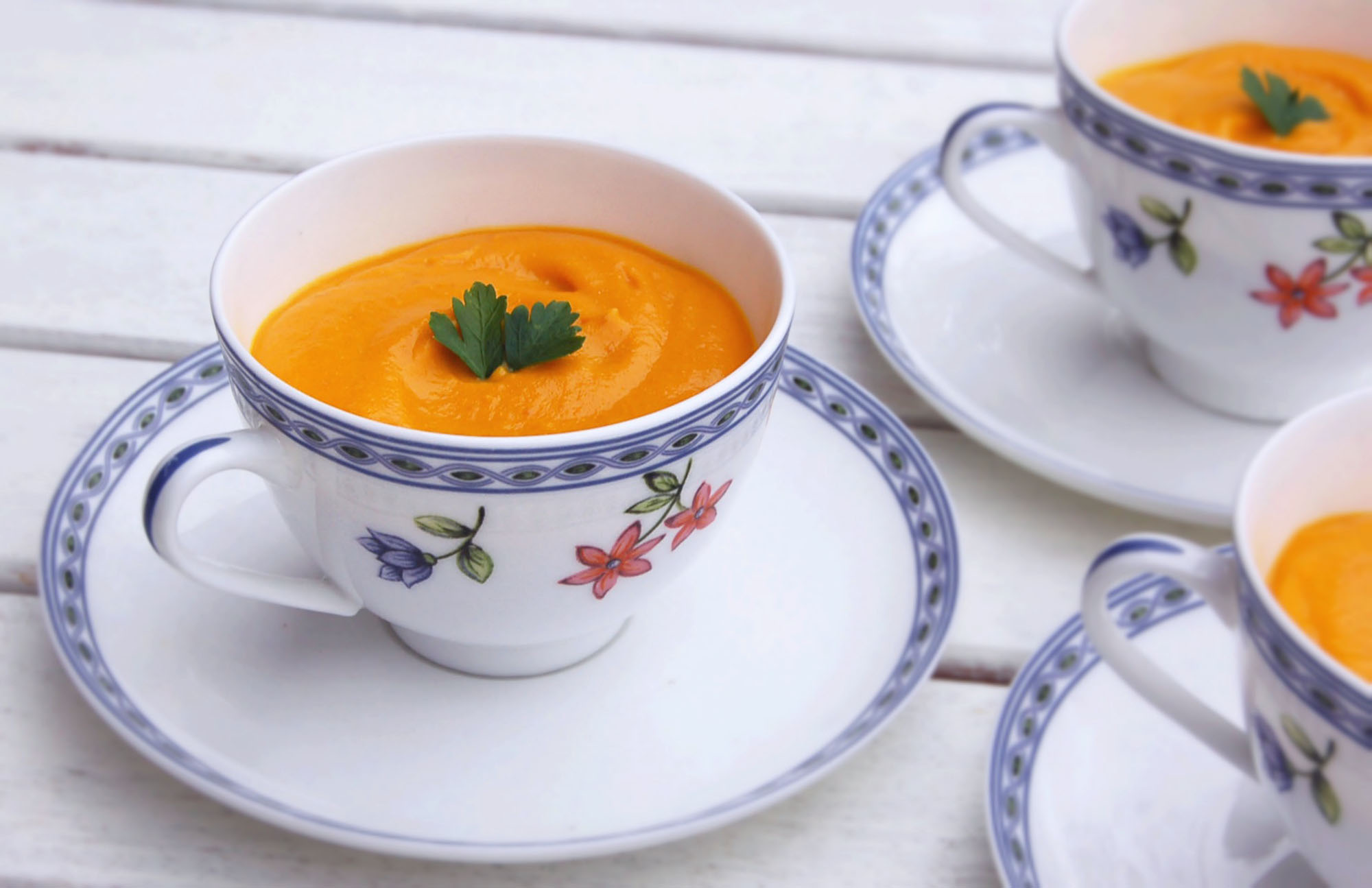 Creamy Sweet Potato & Ginger Soup