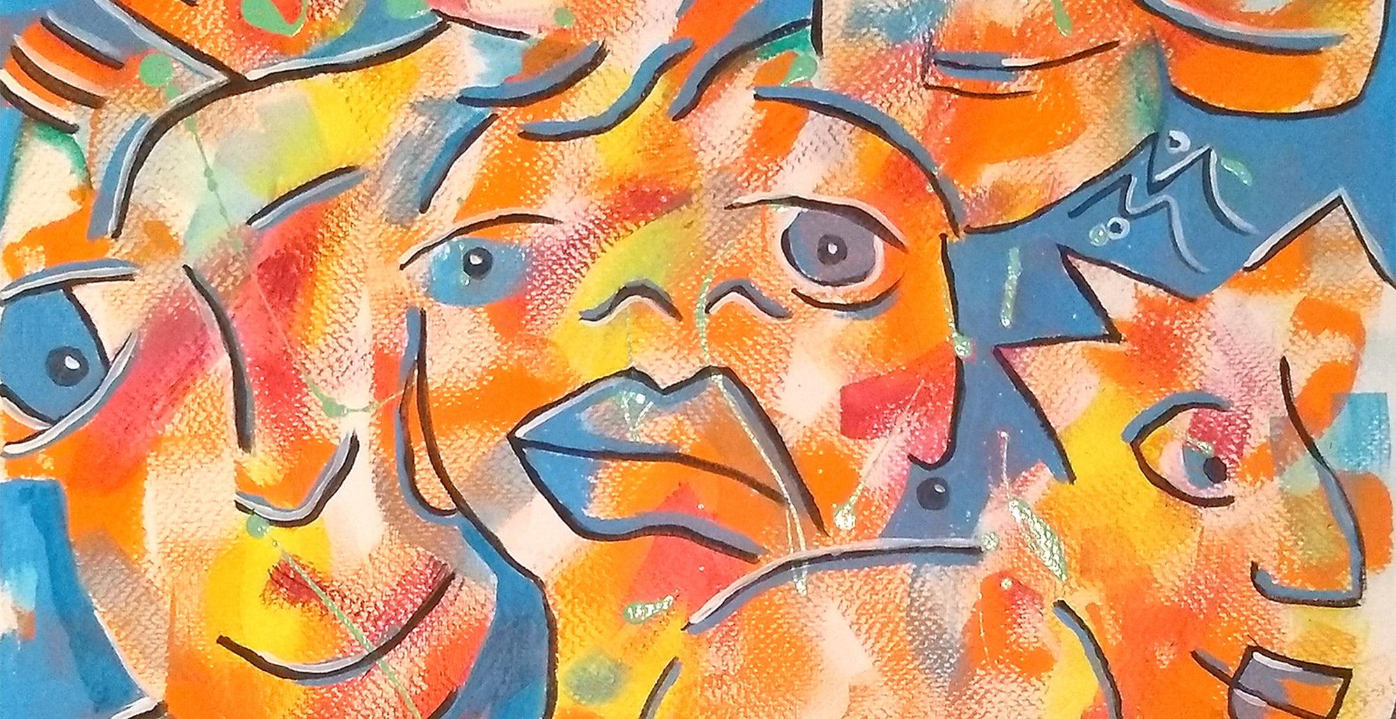 I-see-you-2, marijke.fr, galerie-atelier-marijke, entrevaux, marijke-mulder, art-visuel