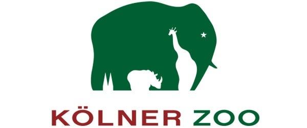 Het logo van de dierentuin in Keulen. Logo Kölner Zoo