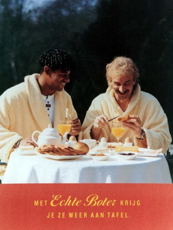 Voller Rijkaard Met echte boter krijg je ze weer aan tafel