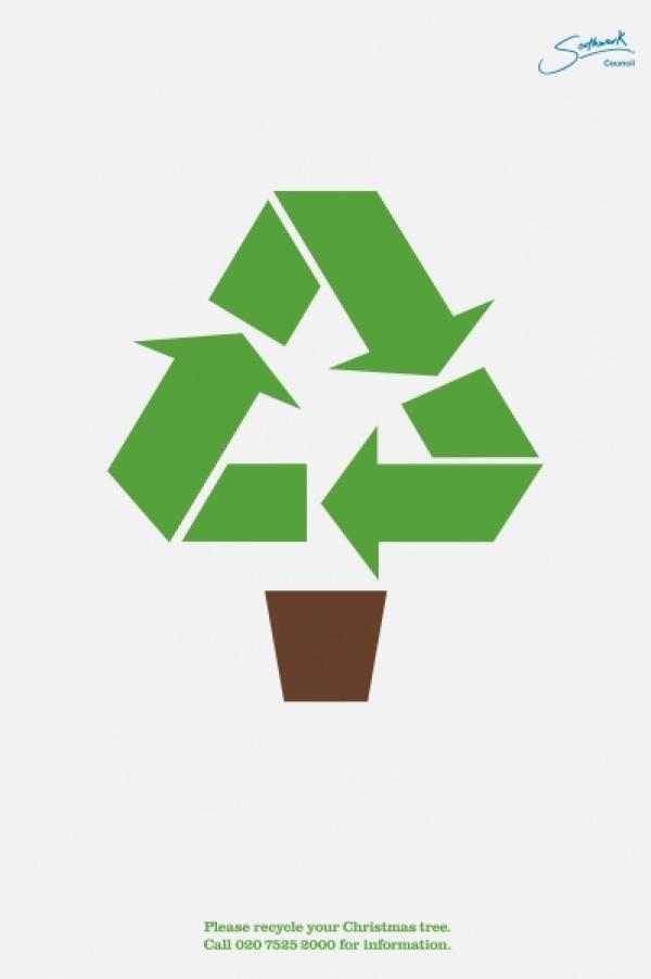 kerstboom recyclen
