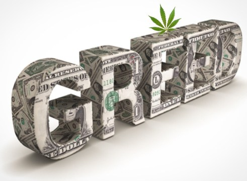Big Marijuana is officially corrupt.
