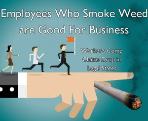 Employees Who Smoke Weed are Good For Business – Worker's Comp Claims Drop in Legal States