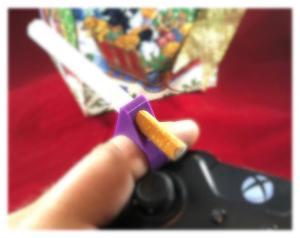 Hands Free Gamer joint holder rings