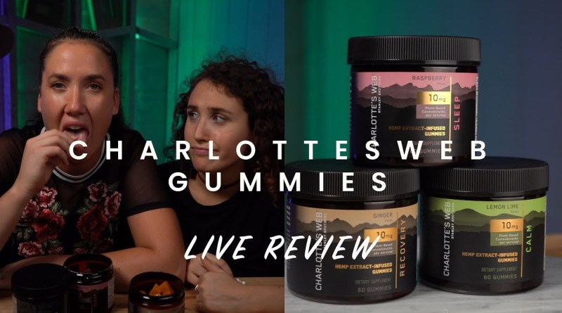 Taste like weed gum… Charlotte's Web CBD Gummies Review
