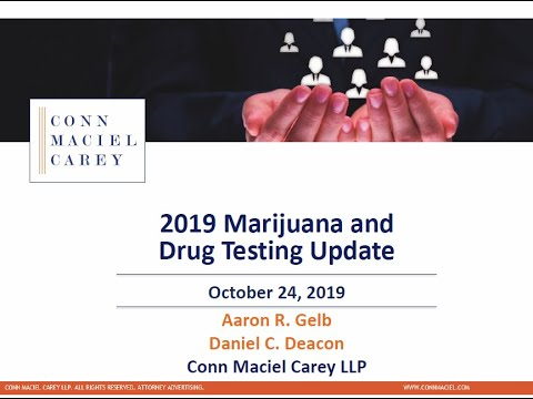 Marijuana and Drug Testing Update