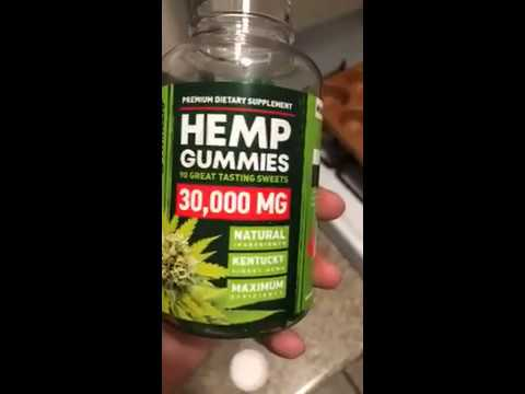 CBD Gummy – Hemp Gummies – 30000 MG – Premium Stress & Anxiety Relief