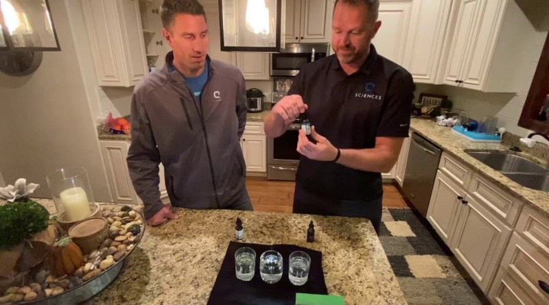 Hemp Oil Comparison with Q Sciences Fuse by Jason White and Brian Rhodes.