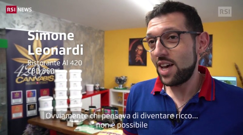 La cannabis light non è l'Eldorado | RSI NEWS