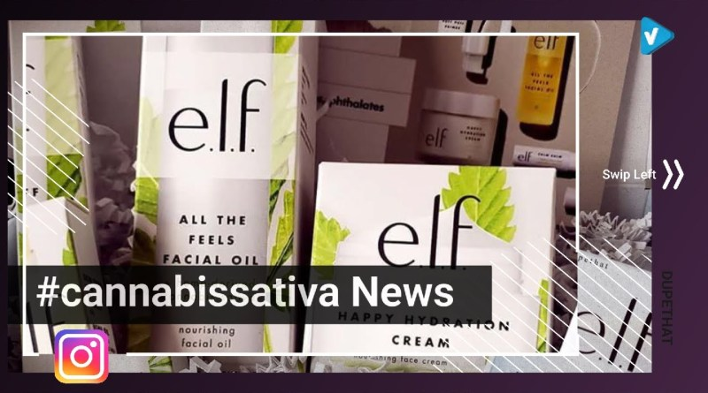 #DUPETHAT News: More NEW skincare! @elfcosmetics recently dropped their #CannabisSativa collection –