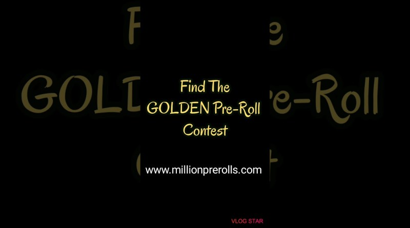 Hemp CBD Pre-Rolls – Win 100 CBD Pre-Rolls – Find The Golden Pre-Roll Contest – Hemp Flower Review