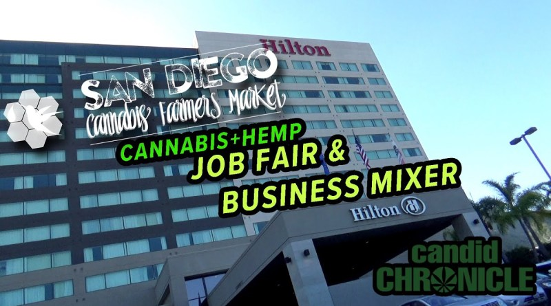 San Diego Cannabis Farmers Market Cannabis+Hemp Job Fair & Business Mixer