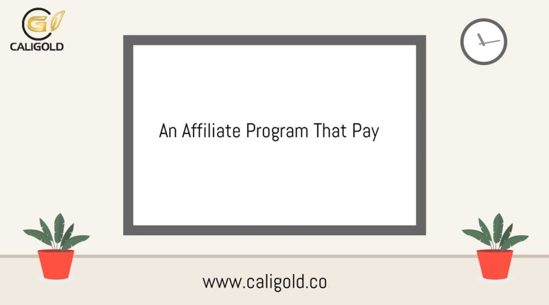 CBD Affiliate Program | CaliGold CBD Oil Uk | Make Money By promoting CBD Oils