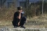 North-korea Man Smoking Marijuana
