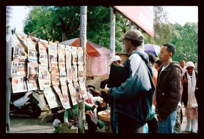 Kiosque à journaux, Antanarivo