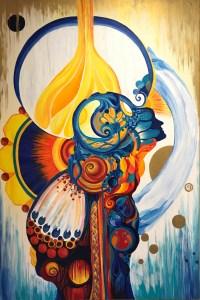 "Renewal by Marika Reinke 2017 Acrylic Painting 72"" x 48"""