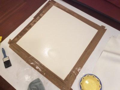 The beginning, a blank sheet.