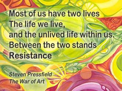 Steven Pressfield Quote: The War of Art