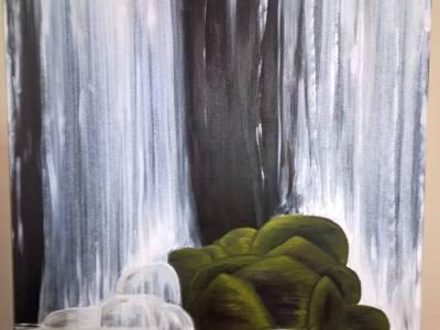 Still Motion by Marika Reinke 4' x 3' Acrylic Commission