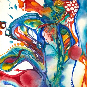 New! The Art Ritual: Explore Intuitive Painting with Watercolor @ Marika's Art Studio