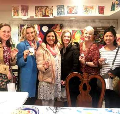 Watercolor Jewelry Party