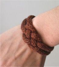 Bracelet tricotin 2